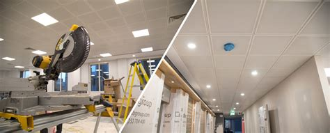 Suspended Ceiling Cleaning by Office Fit Out Refurbishment Calabash Ceiling Cleaning