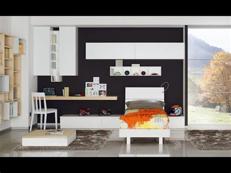 camere da letto ragazzi moderne camere singole moderne