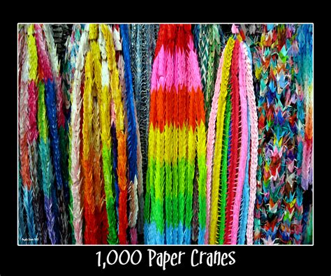 How To Make 1000 Paper Cranes - 1 000 paper cranes by abiona on deviantart