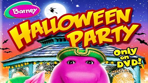 youtube barney and friends halloween party barney