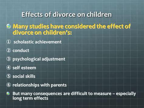 Effects Of Divorce On Children Essay by Divorce Effects On Children Essay