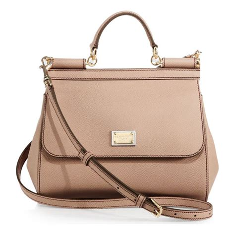 Dg Dolce And Gabbana Suzanne Satchel by Dolce Gabbana Medium Miss Sicily Leather Top Handle