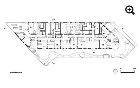 Machine For Life Hostel And Cr 232 Che In Paris By Chartier Architectural Plans Of Hostels