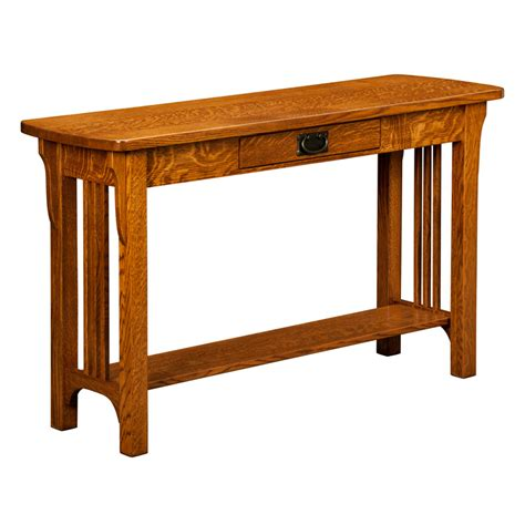 mission style sofa table oak mission sofa table solid oak mission style sofa table