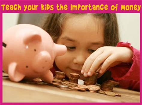 Parenting Teaching The Value Of Money by Teaching Children The Importance Of Money