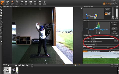 golf swing tempo ratio the golf swing and time