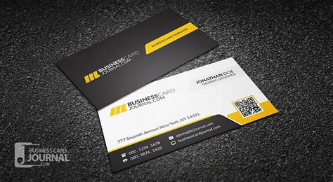 Free Business Card Template With Qr Code by 20 Free Printable Templates For Business Cards