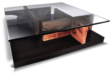 Contempory Coffee Tables Maze Coffee Table Mango Contemporary Coffee Tables