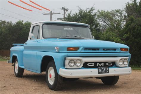 1964 gmc fenderside truck restored truck low