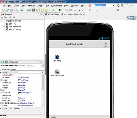 android layout enabled delphifeedsclient on android and ios