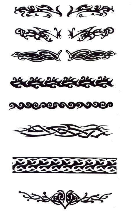 tribal cuff tattoo tribal design img1238 171 tribal 171 flash tatto sets
