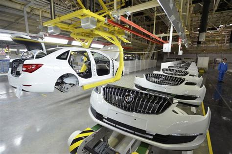 buick popular in china gm to import made buick suv wsj