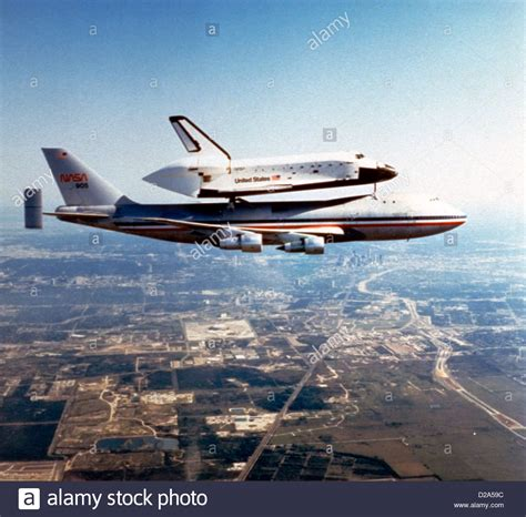 space shuttle challenger space shuttle challenger being ferried by nasa 905 a