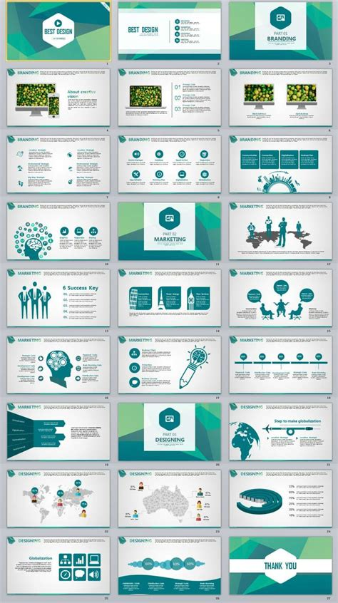 creative the highest quality powerpoint templates and 27 blue best creative powerpoint template 2018 best