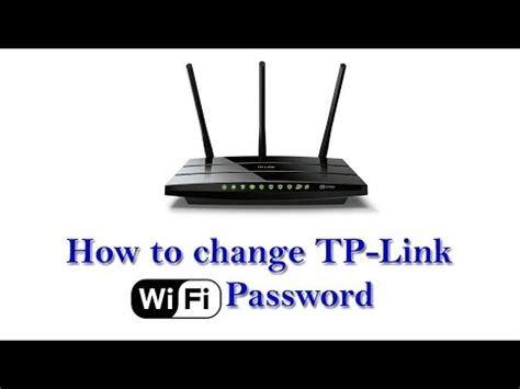 how to reset tp link wifi how to change tp link wifi password in telugu youtube