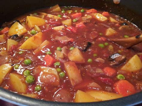 a vegetables stew vegetarian stew