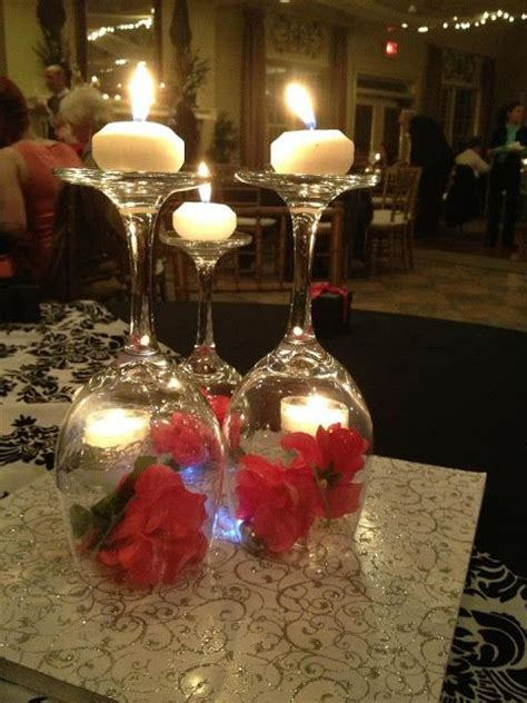 74 Best Wedding Martini And Wine Glass Centrepieces Images Wedding Centerpieces With Wine Glasses