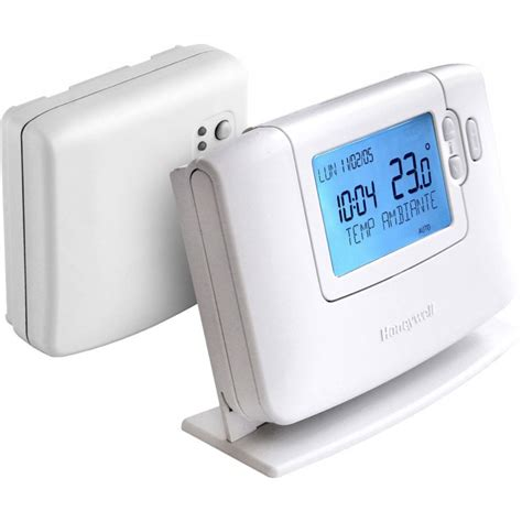 Thermostat Ambiance Sans Fil 5217 by Thermostat D Ambiance Programmable Sans Fil Honeywell
