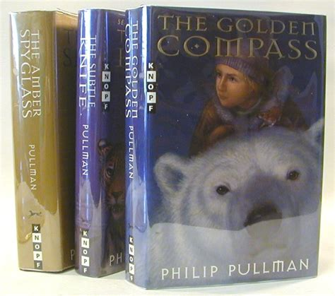 his dark materials trilogy his dark materials trilogy signed the golden compass the subtle knife the amber spyglass