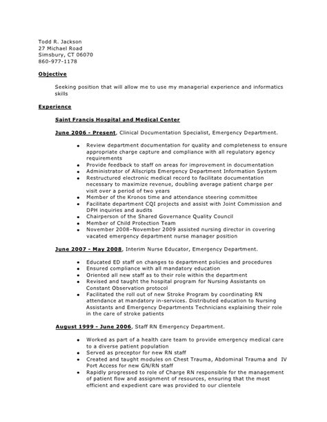 Clinical Documentation Specialist Cover Letter by Clinical Documentation Specialist Resume Resume Ideas