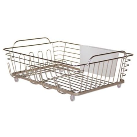 Large Dish Rack by Buy Large Dish Rack In Chrome From Bed Bath Beyond