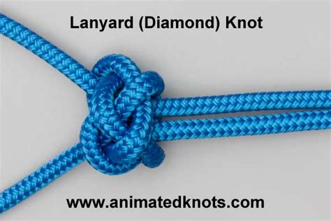 Decorative Knot Tying - wall and crown knot