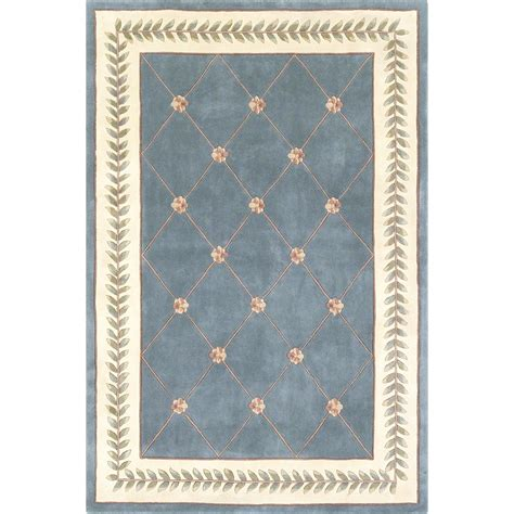area rugs 50 ruby 8929 wedgewood ivory trellis 30 quot x 50 quot size area rug