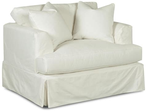 oversized ottoman slipcovers klaussner bentley d92100 c oversized slipcover chair with