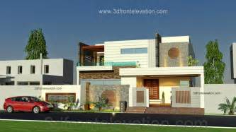 Ideas Exterior Elevation Design 3d Front Elevation Pakistan
