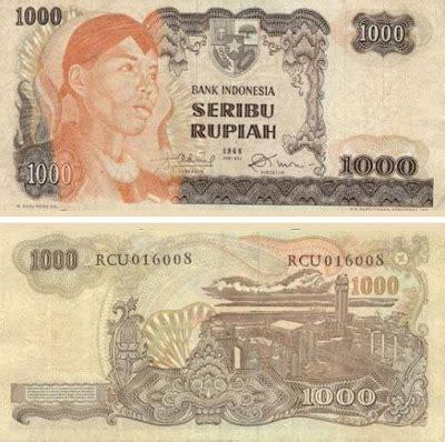 Tambahan Seribu Rupiah baleon 7 inilah uang 1000 rupiah dari masa ke masa