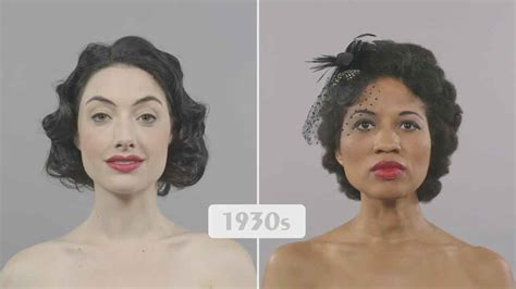 100 years hairstyle images 100 years of beauty ebony and ivory comparison vintage