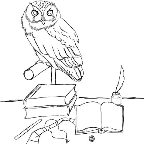 gryffindor free coloring pages