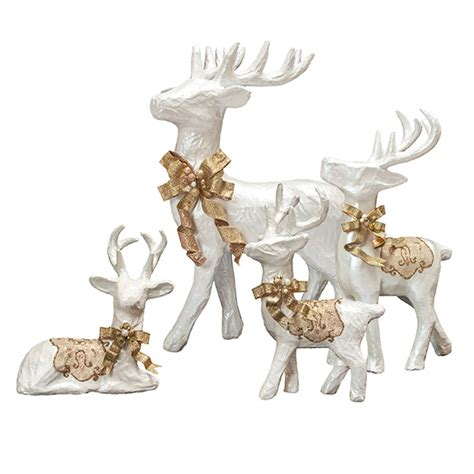 How To Make Gold Paper - how to make a paper mache reindeer 28 images white