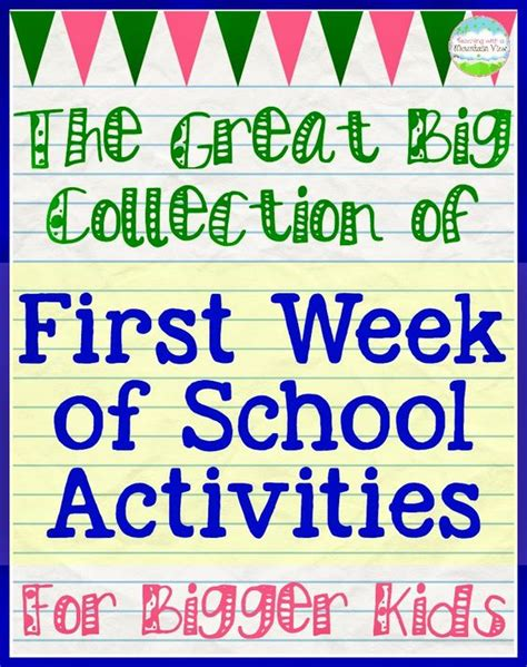 day school activities day of school activities for 5th grade