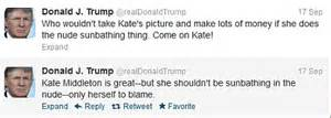 Avril Says Only Has Herself To Blame by She Only Has Herself To Blame The Donald Weighs In On