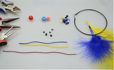 how to make feather jewelry earring how to make feather earrings