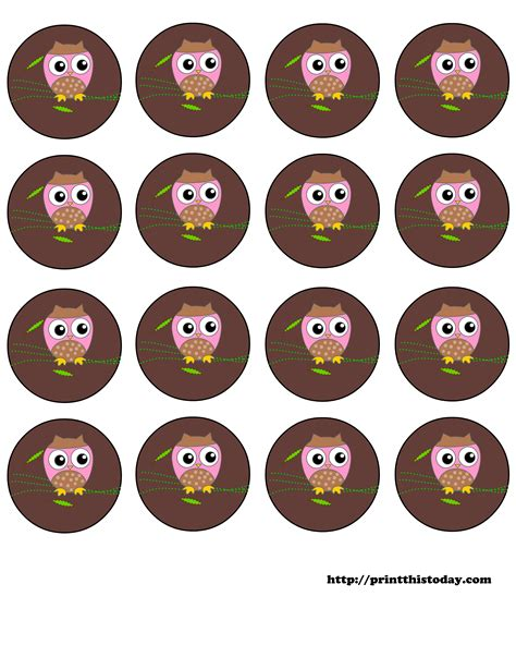 free printable owl tags free printable owl themed baby shower labels