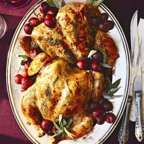 thanksgiving dinner menu with our best ever roast chicken