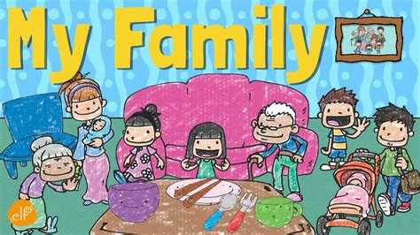 family vocabulary  kids pronouns  contractions elf learning youtube