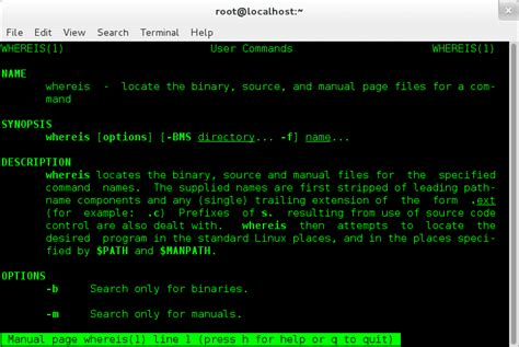 tutorial linux find how to find linux commands and programs using whereis