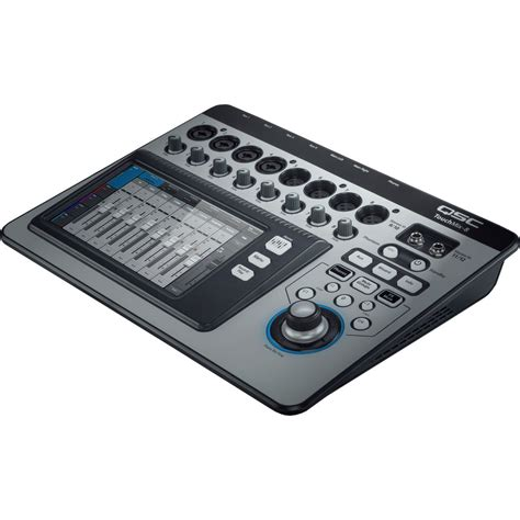 Mixer Digital Qsc qsc touchmix 8 compact digital mixer with touchscreen touchmix 8