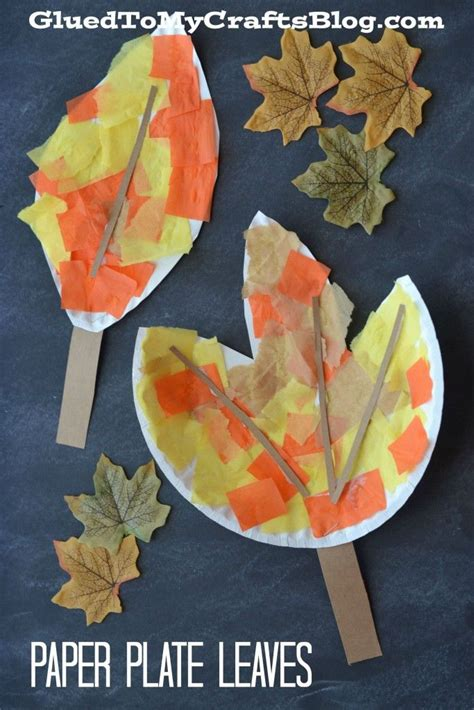 Fall Paper Crafts - 25 best ideas about leaf crafts on fall diy