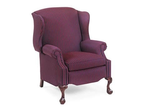 Hancock And Moore Living Room Sterling Wing Chair Recliner