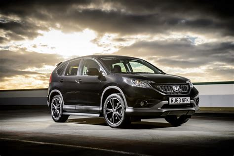 honda cr v quot black edition quot and quot white edition quot launched in