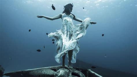 real life mermaid explores  deep sea conde nast