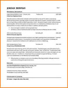 6 experienced nursing resume samples financial statement