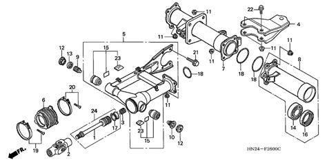 honda foreman 450 parts diagram 500 jaguar atv wiring diagram get free image about