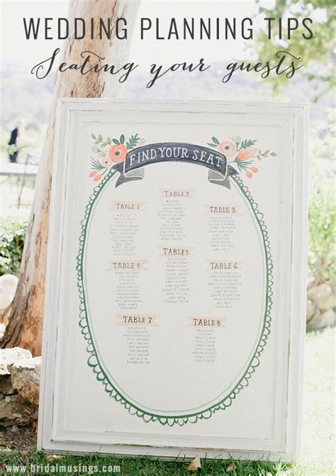 Wedding Plan by Wedding Planning Tips Seating Guests At Your Wedding