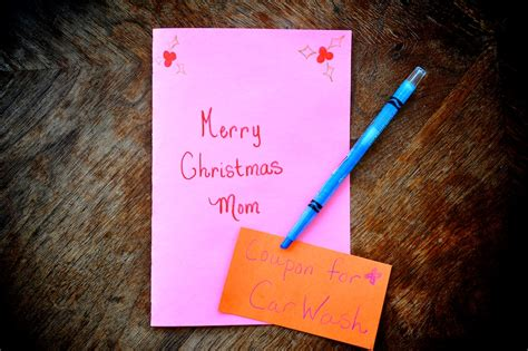 how to make a gift voucher for your parents for christmas