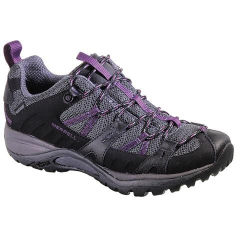 merrell hiking shoes womens s merrell siren sport 2 waterproof hiking shoes